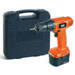 TALADRO BLACK & DECKER INALAMBRICO 12V CD121K