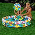 PILETA INFLABLE INTEX 19619/4 FISHBOWL
