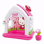 CASITA INFLABLE INTEX HELLO KITTY ROSA