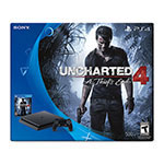 CONSOLA PLAY STATION PS4 500 GB + JUEGO UNCHARTED 4