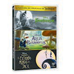 DISNEY Alice in Wonderland ~ Frankenwinnie ~The Nightmare before Christmas