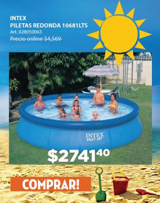 Ribeiro for Piletas estructurales intex precio